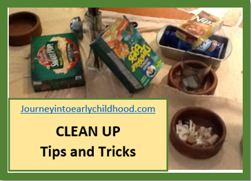 Clean Up Time after PlayCenters