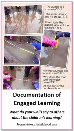 Documentation of Learning journeyintoearlychildhood.com