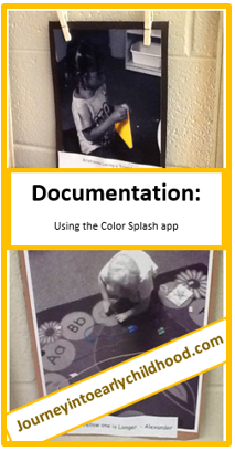 Documentation of Objectives with ColorSplash