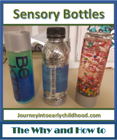Why Use Sensory Bottles and Directions to Make journeyintoearlychildhood.com