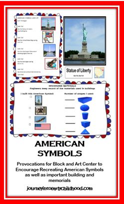 American Symbols Provocations and Challenges journeyintoearlychildhood.com