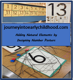 Number Posters with nature FREE DOWNLOAD journeyintoearlychildhood.com