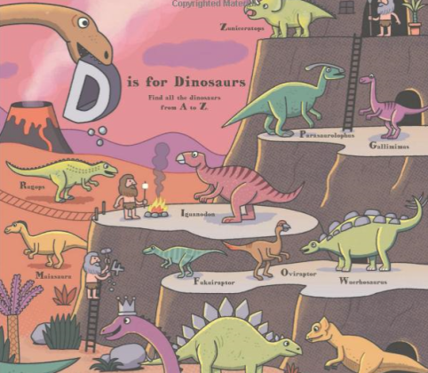 ABC dinosaurs