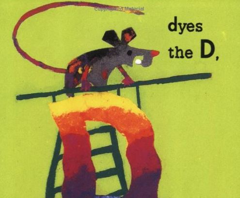 dyes the d