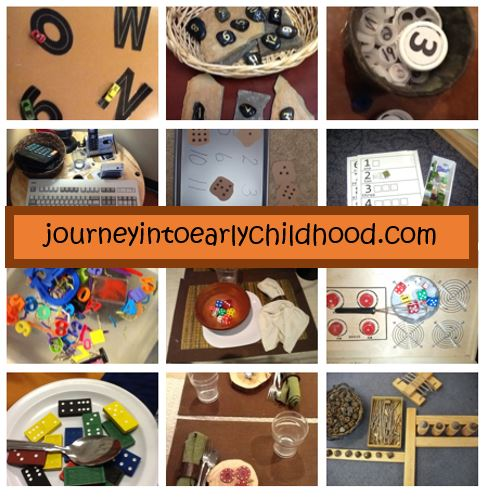journeyintoearlychildhood number sense in play