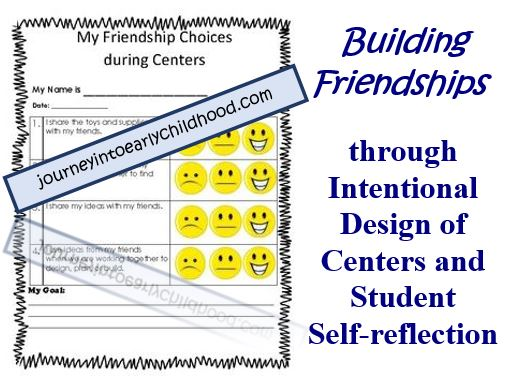 Building Friendships through Intentional Design ofCenters