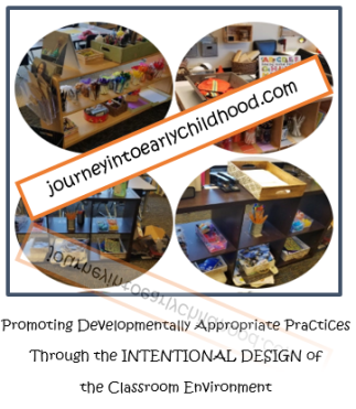 journeyintoearlychildhood.com Intentionally Designed Environments