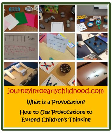 What Are Provocations?   Resources for Block PlayProvocations