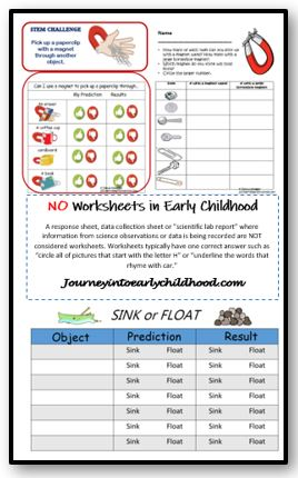 No Worksheets in Early Childhood PartII
