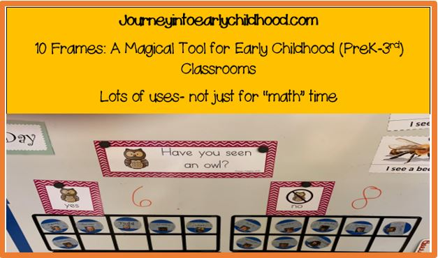 10 frames question of the day journeyintoearlychildhood