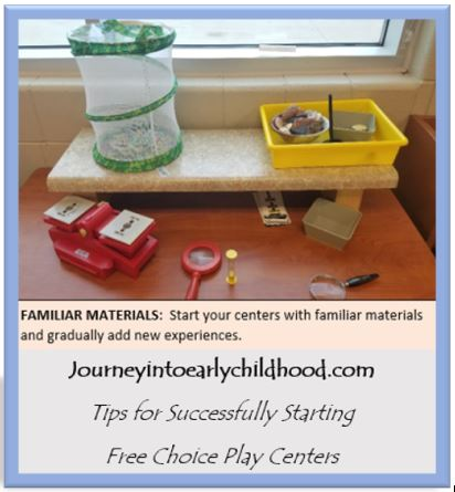 Starting Free Choice Play Centers at the Beginning of theYear