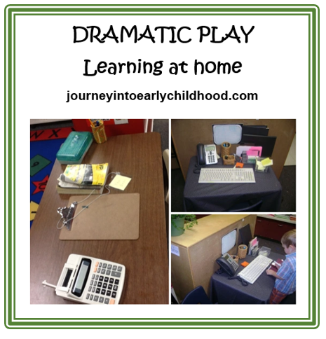 dramatic play learning at home journeyintoearlychildhood