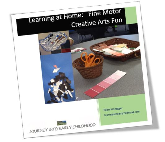 Learning at Home Fine Motor Fun and Creative Expression journeyintoearlychildhood