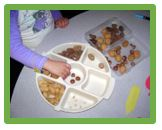 sorting nature items journeyintoearlychildhood