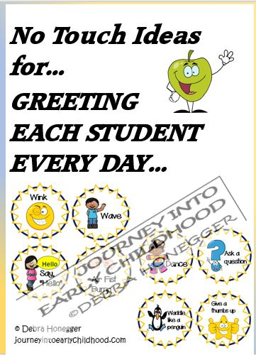 Greetings Every Day in the Classroom- No TouchIdeas