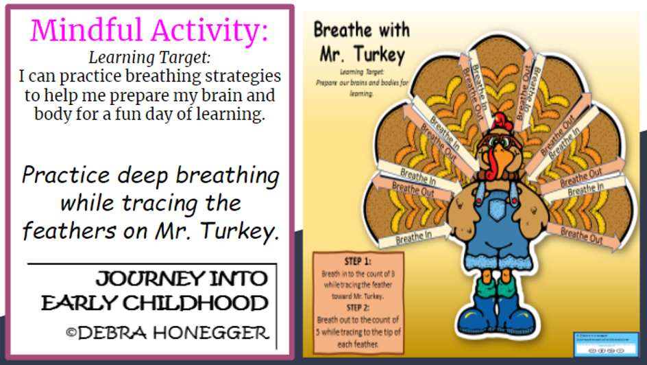 SEL Remote Style: Deep Breathing with Mr.Turkey