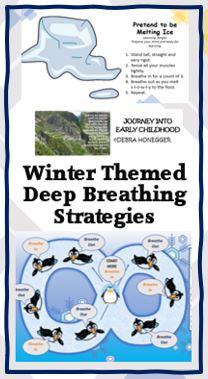 Deep Breathing Strategies: WinterThemed