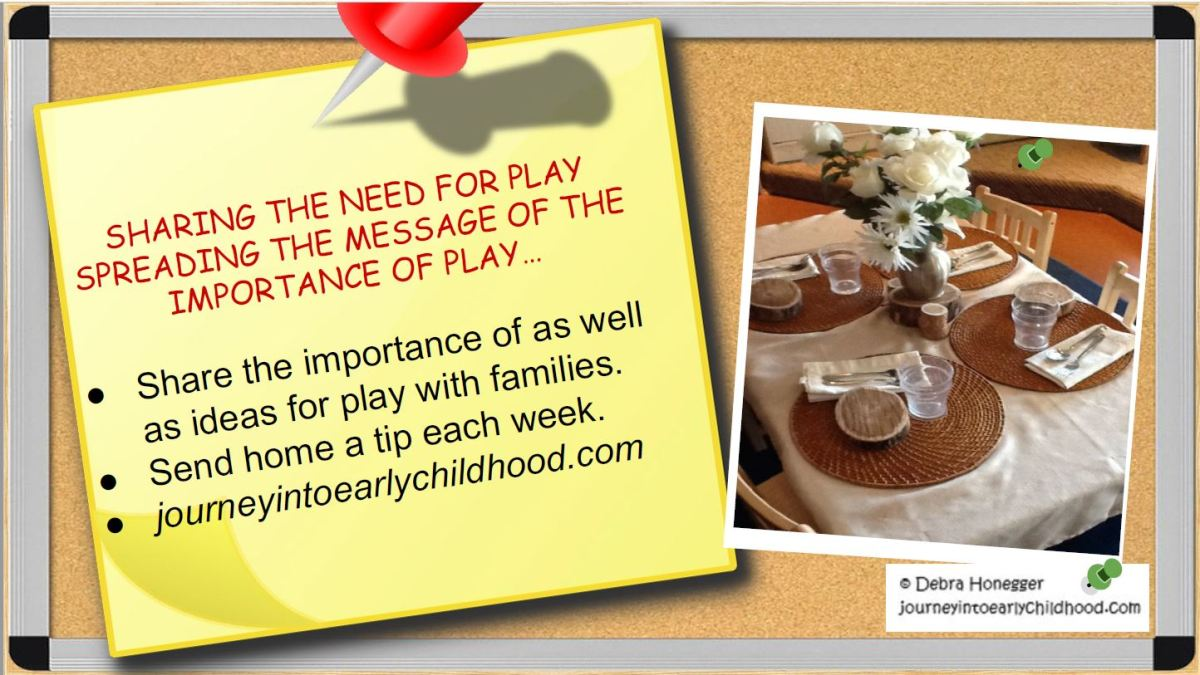 Sharing the Importance of Play withFamilies